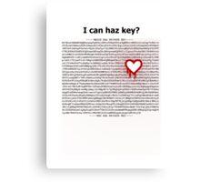 Heartbleed OpenSSL One Canvas Print