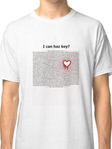 Heartbleed OpenSSL One Classic T-Shirt