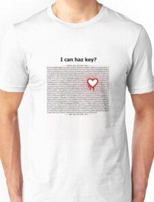 Heartbleed OpenSSL One Unisex T-Shirt