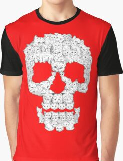 Skull Are for Pussies Graphic T-Shirt