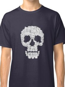 Skull Are for Pussies Classic T-Shirt