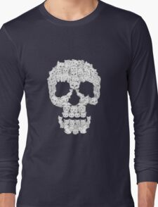 Skull Are for Pussies Long Sleeve T-Shirt