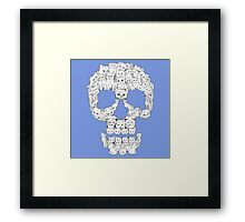 Skull Are for Pussies Framed Print