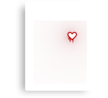 Heartbleed OpenSSL Two Canvas Print