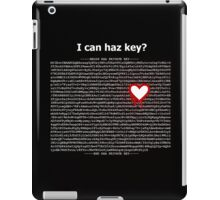 Heartbleed OpenSSL Two iPad Case/Skin