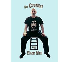 No Country For Bald Men Photographic Print