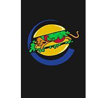 The Lion Burger King Photographic Print