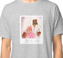 Pink Guy and Black Jesus, Pals for Life Classic T-Shirt