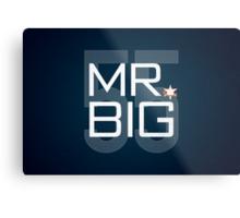 Mr. Big Metal Print