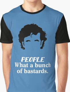 IT Crowd - What a Bunch of Bastards Graphic T-Shirt