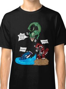 Old man Rayquaza losing it Classic T-Shirt