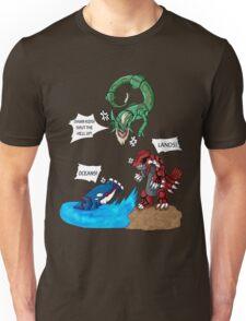 Old man Rayquaza losing it Unisex T-Shirt
