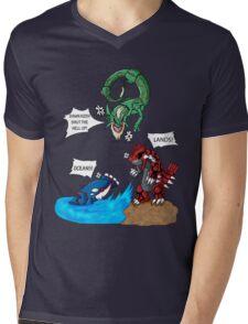 Old man Rayquaza losing it Mens V-Neck T-Shirt