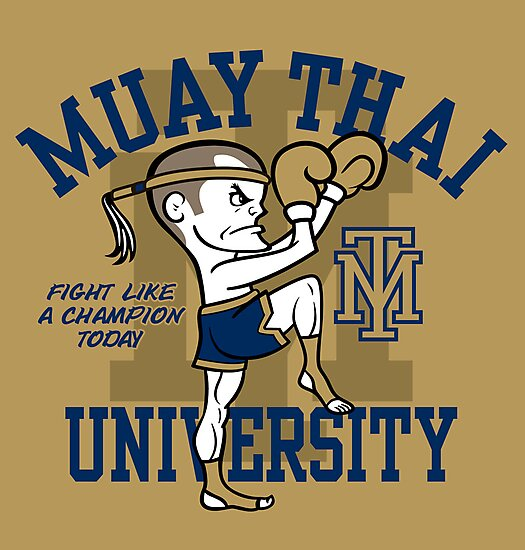 MUAY THAI UNIVERSITY by popnerd