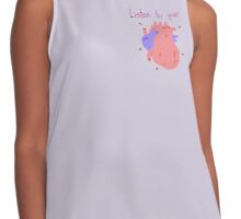 Listen to your heart (Anatomically correct) Contrast Tank