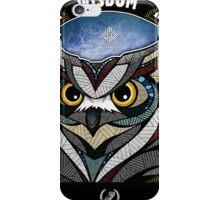 Owl Noctua Wild Totem iPhone Case/Skin