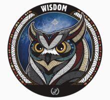Owl Noctua Wild Totem by uluru