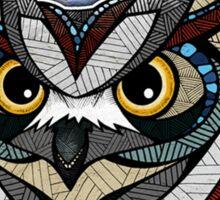 Owl Noctua Wild Totem Sticker