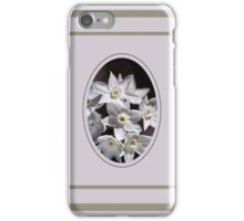 Cluster Of Paperwhite Flowers iPhone Case/Skin
