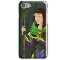 Druid of the Wilds iPhone Case/Skin