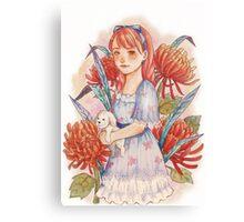 Lady Ruby Rooibos Canvas Print