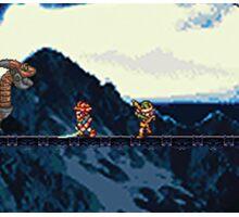 Chrono vs. Dragon Tank Sticker