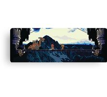 Chrono vs. Dragon Tank Canvas Print