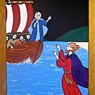 Jesus Walking on the Water by Shulie1