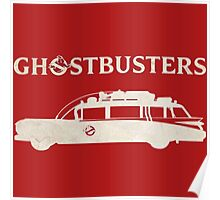 Ghostbusters car Poster