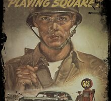 Are You Playing Fair - Gas Rationing by dianegaddis