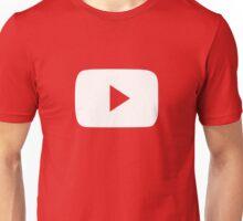 Play button Unisex T-Shirt