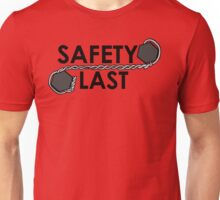 Safety Last (Safety Wire) Shirt Unisex T-Shirt