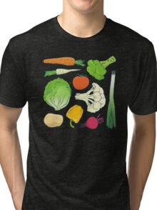 Eat Your Veggies! Tri-blend T-Shirt