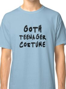 Goth teenager costume Funny Classic T-Shirt