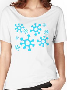 Snowing Women's Relaxed Fit T-Shirt