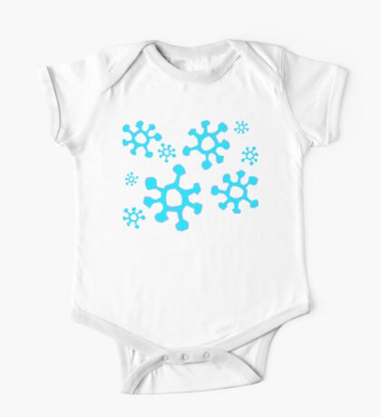 Snowing One Piece - Short Sleeve