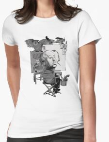 Alfred Hitchcock Womens Fitted T-Shirt