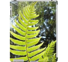 Sunlit Ferns iPad Case/Skin