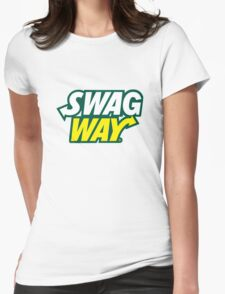 SWAGWAY Womens Fitted T-Shirt