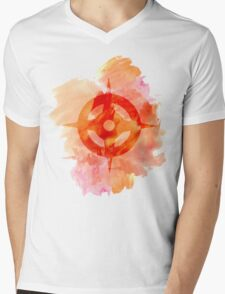 Hoshido Royal Crest Watercolor Mens V-Neck T-Shirt