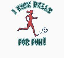 Women's Soccer I Kick Balls For Fun Women's Tank Top