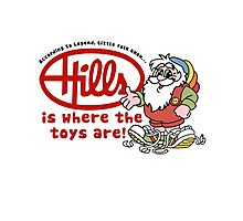 Hills is where the toys are! Photographic Print