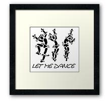 """""""Let Me Dance"""" by Carter L. Shepard Framed Print"""