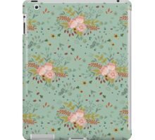 Woodland Flowers - Sea Foam iPad Case/Skin
