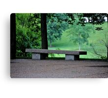 lonely...... Canvas Print