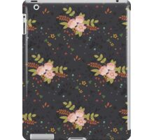 Woodland Flowers - Grey iPad Case/Skin