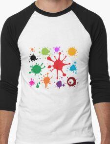 I see something colorful Men's Baseball ¾ T-Shirt
