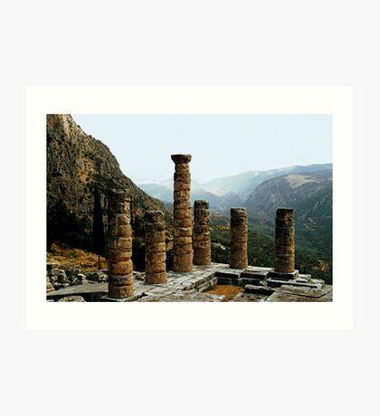 Delphi - Greece.........! Art Print