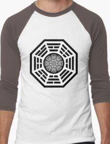 Dharma Initiative White Lotus Men's Baseball ¾ T-Shirt