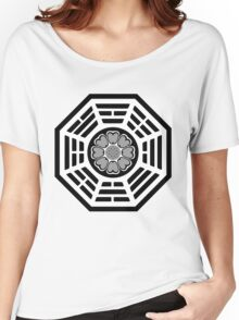 Dharma Initiative White Lotus Women's Relaxed Fit T-Shirt
